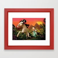 Amy Wildhorse Framed Art Print