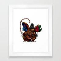 Dormouse Framed Art Print