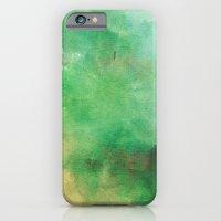 Green & Yellow Paint iPhone 6 Slim Case