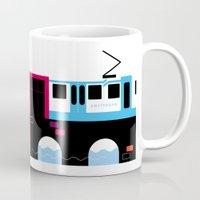 Postcards from Amsterdam / Tram Mug
