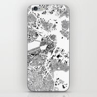 iPhone & iPod Skin featuring BostonG Schwarzplan by City Map Art