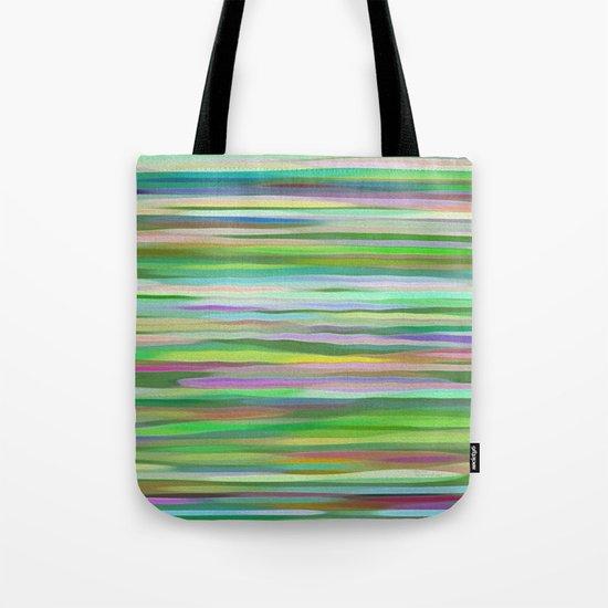 Swimming Stripes Tote Bag