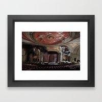 Paramount Theater Framed Art Print