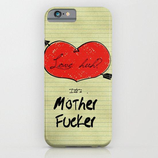 love huh? iPhone & iPod Case