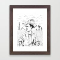 For We Have Labored Long… Framed Art Print