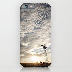 Sandhills Windmill @ Sunset Verticle iPhone 6 Slim Case