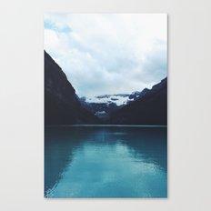 Moody Lake Louise Canvas Print
