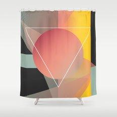 Objectum Shower Curtain