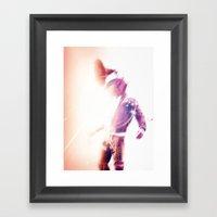 Sonic Boom Framed Art Print