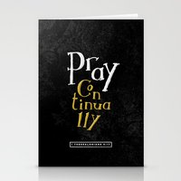 Pray Continually Stationery Cards