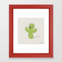 Infected Spine  Framed Art Print