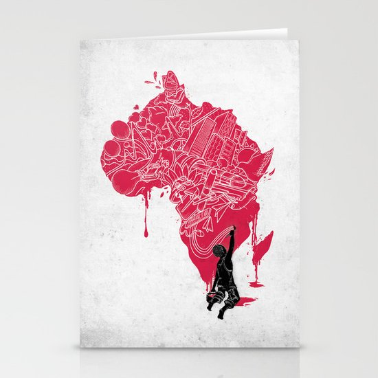 RE | Draw AFRIKA Stationery Card