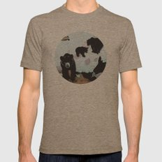 Walking Bears No. 2 Mens Fitted Tee Tri-Coffee SMALL