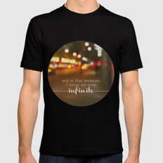 perks of being a wallflower - we were infinite Black SMALL Mens Fitted Tee