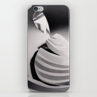 Paper Sculpture #6 iPhone & iPod Skin