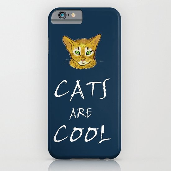 Cats are Cool iPhone & iPod Case