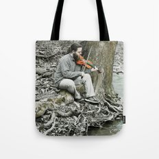 Fiddler on the Creek Tote Bag