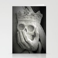 Death At Hand Stationery Cards