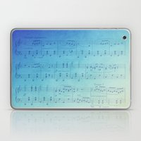 Watercolor Music Laptop & iPad Skin