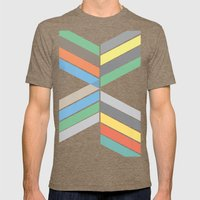 Convergence Mens Fitted Tee Tri-Coffee SMALL
