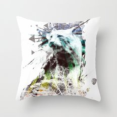 predation instinct Throw Pillow