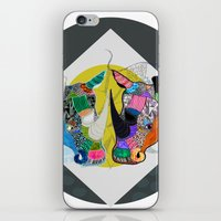 Rhino And RhInO iPhone & iPod Skin
