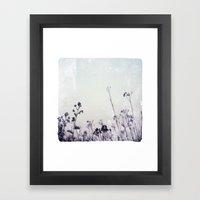 Landscape 1 (cold tones) Framed Art Print
