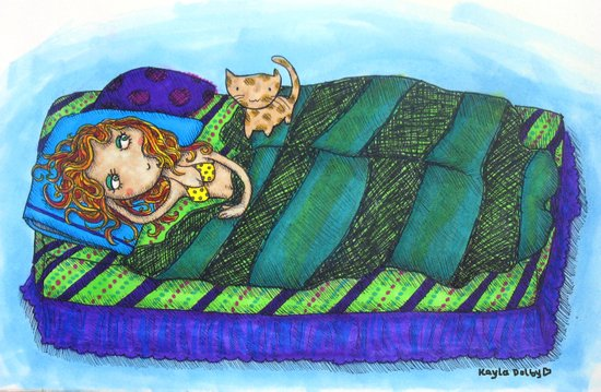 Sleeping In... Art Print