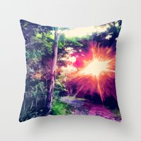 Junglism 4 Throw Pillow