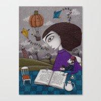 November Stories Canvas Print