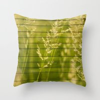 Projections Throw Pillow