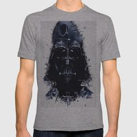 Darth Vader Mens Fitted Tee Athletic Grey SMALL