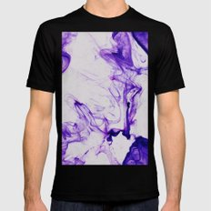 Scribble Mens Fitted Tee Black SMALL