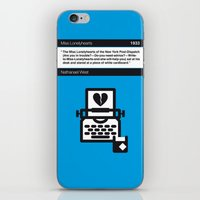 No011 MY Miss Lonelyhearts Book Icon poster iPhone & iPod Skin