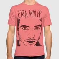EMM Mens Fitted Tee Pomegranate SMALL