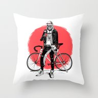 Cool Death Throw Pillow