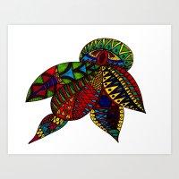 Turtle Beetle 2 Art Print