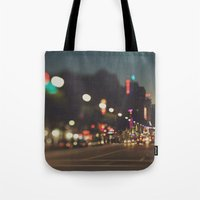 Hollywood Boulevard. Los Angeles Tote Bag