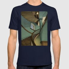 Ascending Mens Fitted Tee Navy SMALL