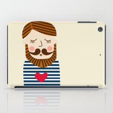 Bearded Sailor Lover iPad Case