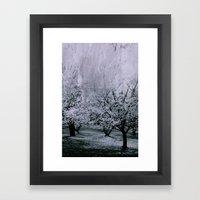 Spring Abstract Framed Art Print