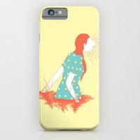 iPhone & iPod Case featuring The Prey by pigboom el crapo