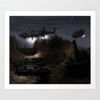 Home Base Art Print