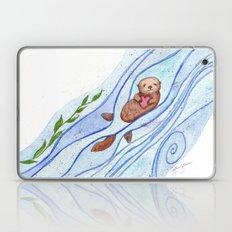 Sea Otter In Love Laptop & iPad Skin