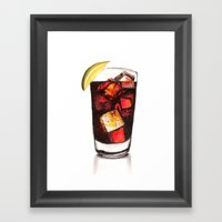 Refresh Framed Art Print