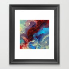 Everything Begins With A… Framed Art Print