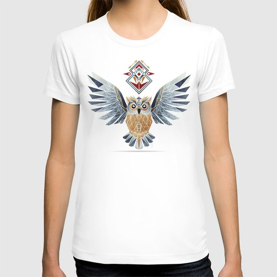 owl winter T-shirt