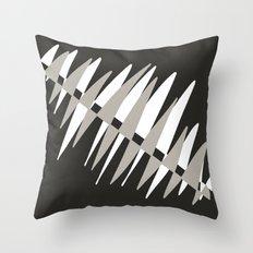 Dark Graphic Throw Pillow