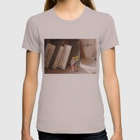Remember History Womens Fitted Tee Cinder SMALL