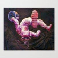 Astronaut Canvas Print